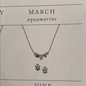 Chloe + Isabel Jewelry - Chloe + Isabel March Aquamarine Birthstone Set